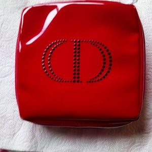 Christian Dior Red Pouch